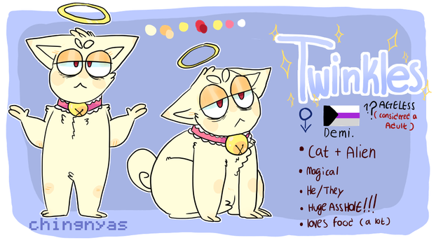 Twinkles Reference sheet by ButtercreamPhil