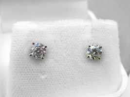 Diamond Studs by Retoucher07030