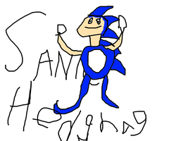 SANIC HEDGHAG by MRrobotoe