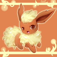 Flareon. by Effier-sxy