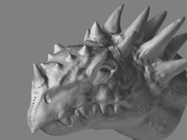 Dragon Head non textured by Kparker