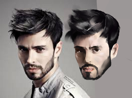 Realistic Face by Ryv3x