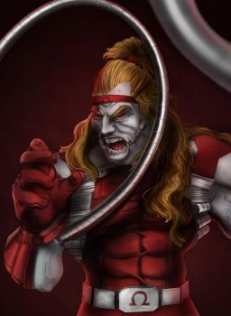 Omega Red - Marvel Villain Series by ericvasquez