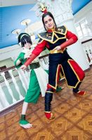 POWER - Toph, Azula by TophWei