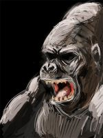 Gorilla by Conteart