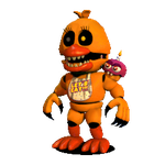 Unwithered Nightmare Chica by JustinCalhoun