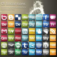 CS Social Icons by HeskinRadiophonic