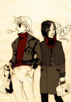 Count and Leon by faQy