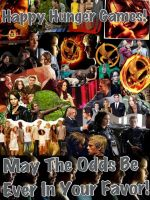 May The Odds Be Ever In Your Favor by JustTheGirlOnFire