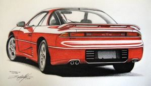 1992 Mitsubishi GTO Twin Turbo by EdgardoS