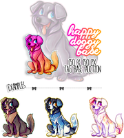 auction: happy doggy base by BabyWolverines