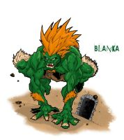 Blanka by BronxArtist