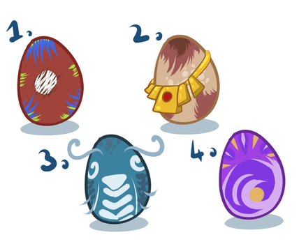 Eggs pack (2/4) by Withelias