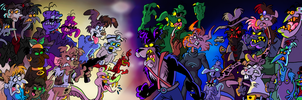 Paradise Island Vs Space Panther by Chopfe