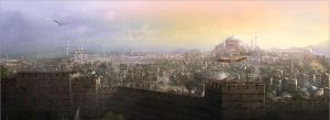 Constantinople view by pbario