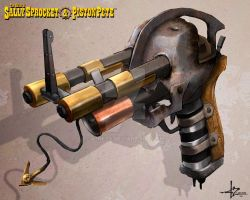 SSnPP - Spurs' Skull Shooter by 47ness