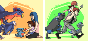 White Nuzlocke: Parenting by ky-nim
