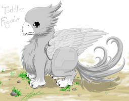 Toddler Fogrider, Gray with White Accents by BahamutDeusModus