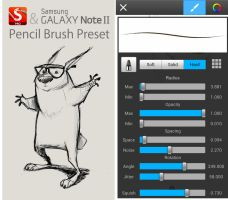 Galaxy Note II + Sketchbook Pro Pencil Brush. by SamNassour