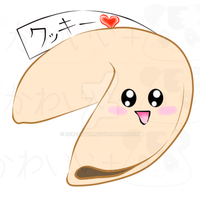 Cute Fortune Cookie by Seregitum