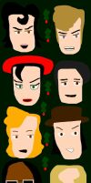 Band Aid Do They Know It's Christmas 1984 Vector by EspioArtwork31