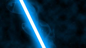Blue Lightsaber by nerfAvari