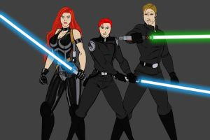 Skywalker Family - preview by JosephB222