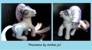 My little pony custom Pharasma by AmbarJulieta