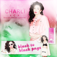 PNG Pack (132) Charli Xcx by IremAkbas