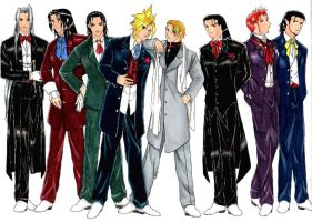 Guys of FF7 by HirotakaKazuki