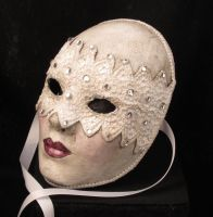Blushing Bride Mask by EffigyMasks