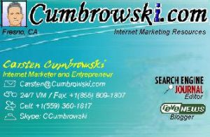 Cumbrowski.com Business Card by roy-sac