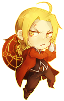 Edward Elric v3 by linedup