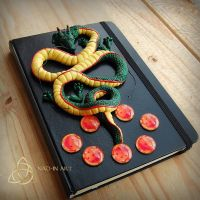 Shenron- dragon journal by Nad-inArt by Nad-in