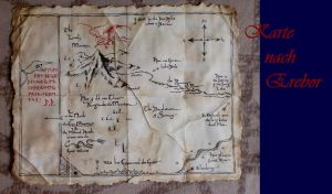 Thorin map to the Erebor by hizsi