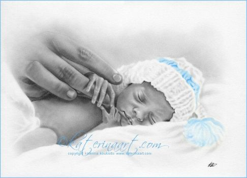 Little Miracle Baby by Katerina-Art