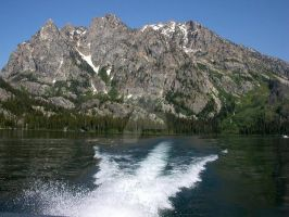 Tetons from the Water by charlie9139