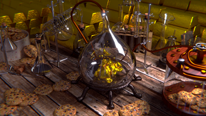 Gold into cookies by egeres