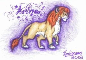 Arina - new design by TigaLioness