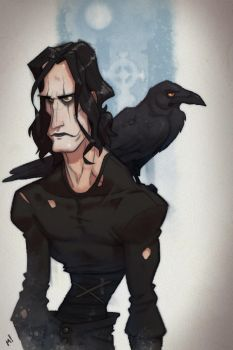 Mr Draven (The Crow) by Zatransis