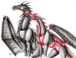 Black and red -request- by Aarok