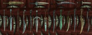 Dagger's of Skyrim by isaac77598