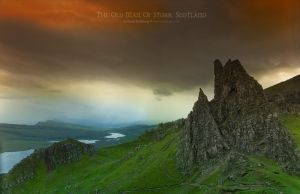 Old Man Of Storr, Scotland by Stridsberg