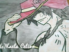 ~Gray Fullbuster wearing Rufus' hat~ by Yuki-the-directioner