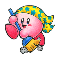 Clean Kirby by gerugeon