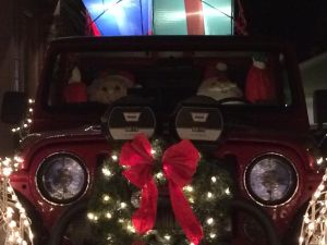 St. Nick and Mrs. Claus's Jeep by Colonel-Knight-Rider