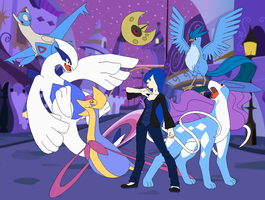 Elite Four Princess Luna by SelenaEde