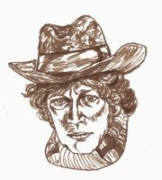 50th: 4th Doctor by akatsukicloud227
