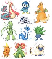 Pokemon collage 4 by emlan
