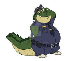 Officer Keel by Eligecos